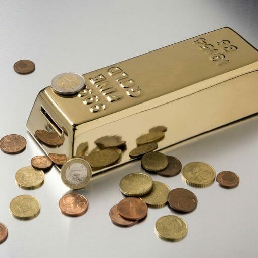 spaarpot goud