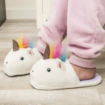 sloffen eenhoorn unicorn pantoffels